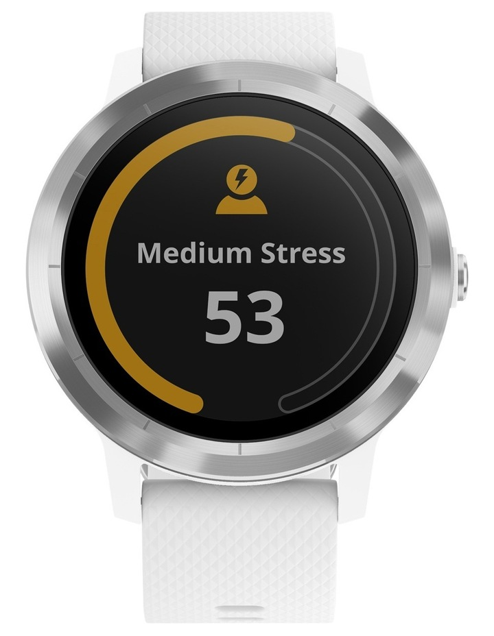 Vivoactive 3 - Stainless/White image 5