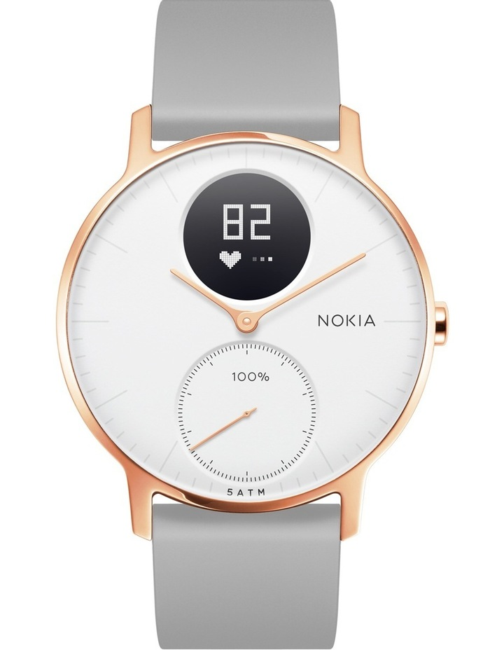 Withings / Nokia Steel HR Smart Watch - 36mm, Rose Gold/Grey image 1