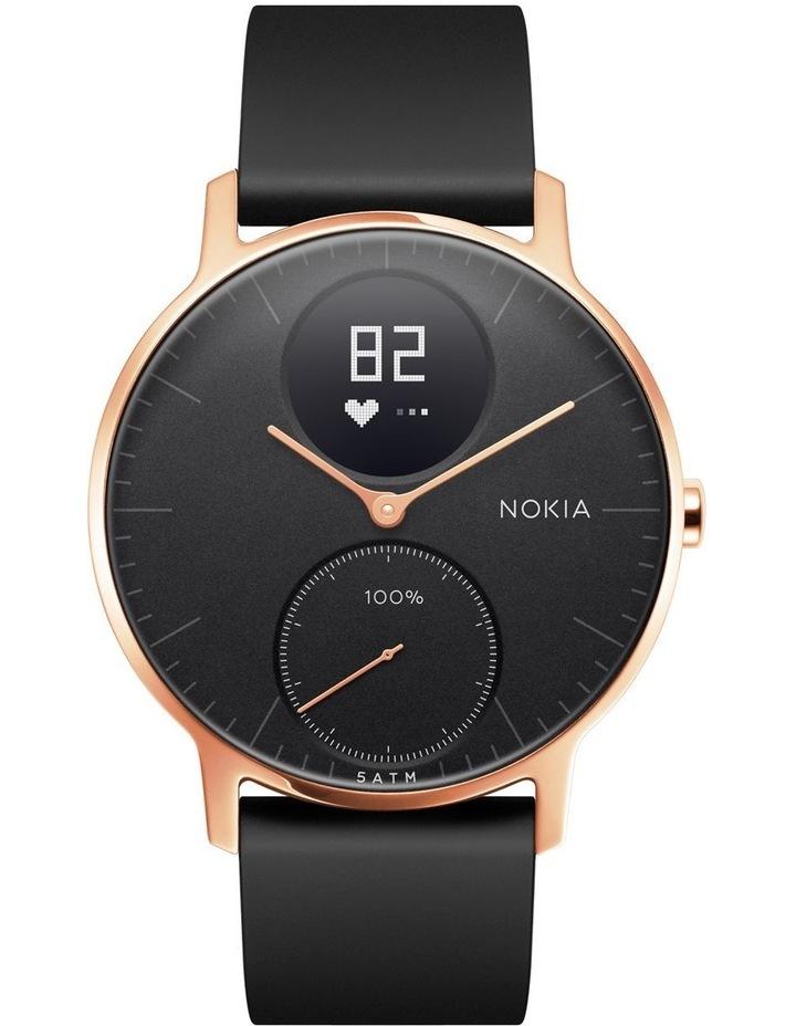 Steel HR Smart Watch - 36mm, Rose Gold/Black image 1