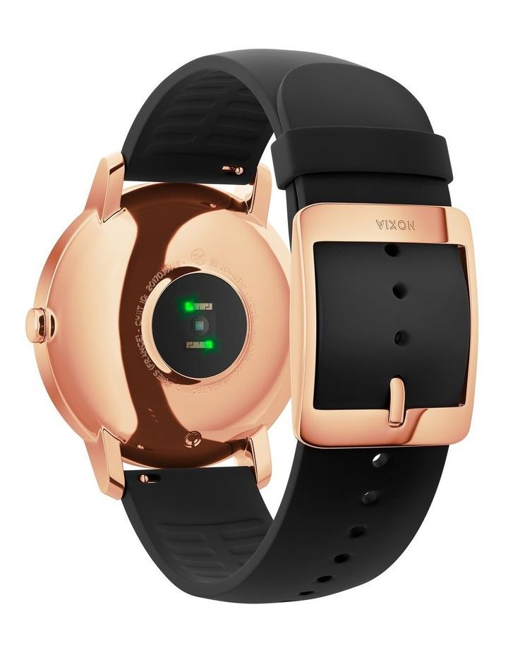 Steel HR Smart Watch - 36mm, Rose Gold/Black image 3