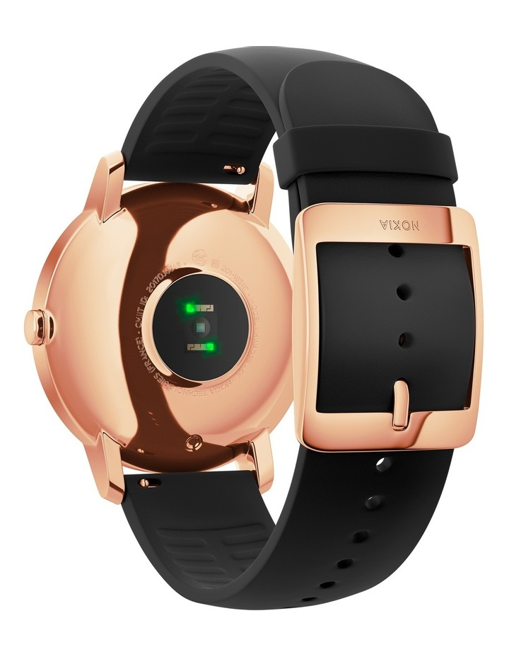 Steel HR Smart Watch - 36mm, Rose Gold/Black image 2