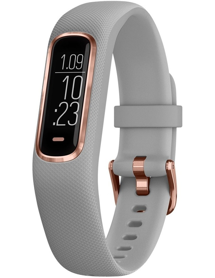 Vivosmart 4 Gray/Rose Gold (S/M) image 1