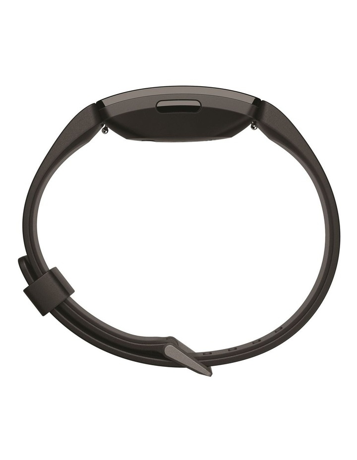 Inspire HR Fitness Trackers - Black image 4