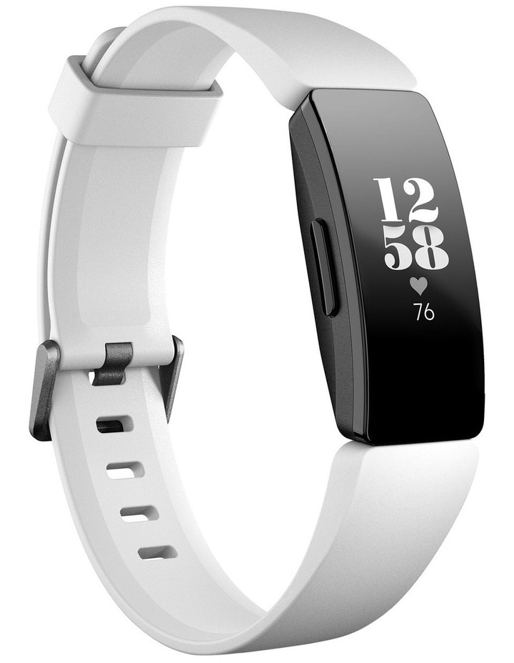 Inspire HR Fitness Trackers - White image 1