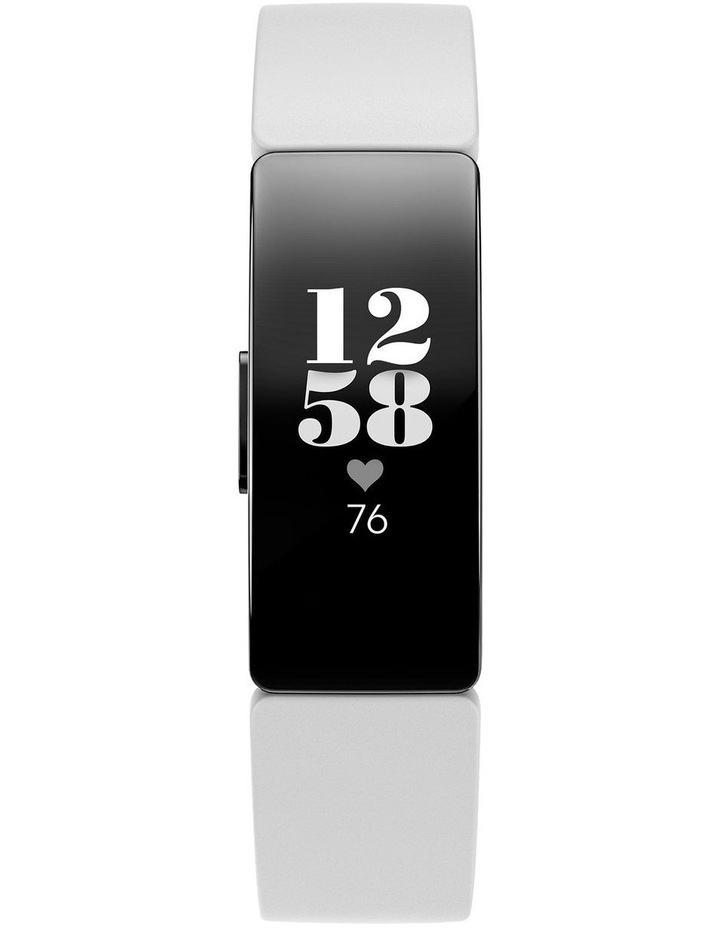 Inspire HR Fitness Trackers - White image 2