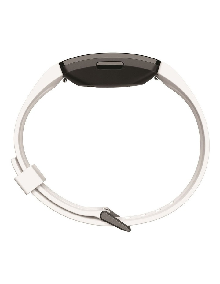 Inspire HR Fitness Trackers - White image 4