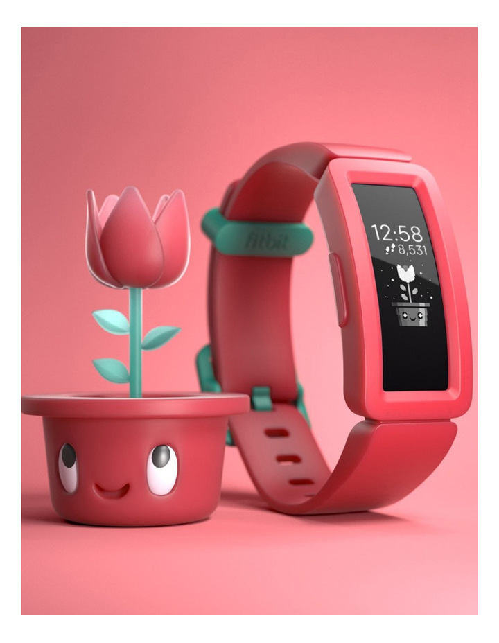 Ace 2 Activity Tracker for Kids - Watermelon / Teal Clasp image 3