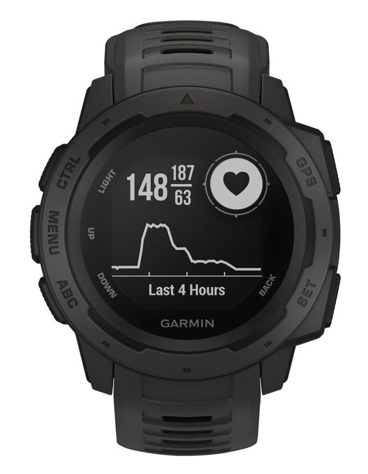Instinct GPS Smart Watch - Graphite image 2