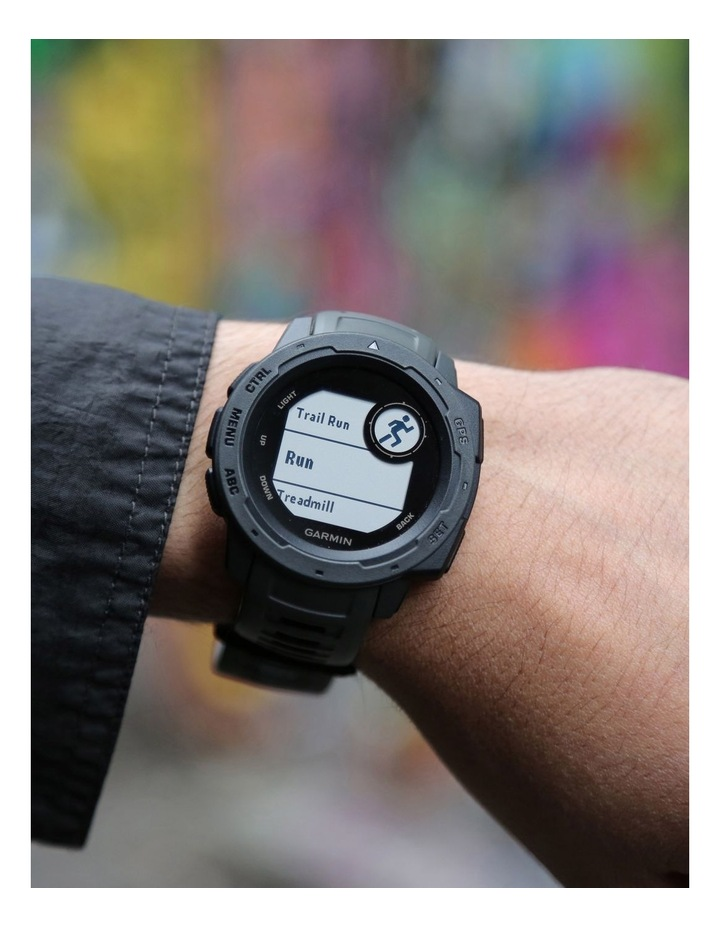 Instinct GPS Smartwatch - Graphite image 5
