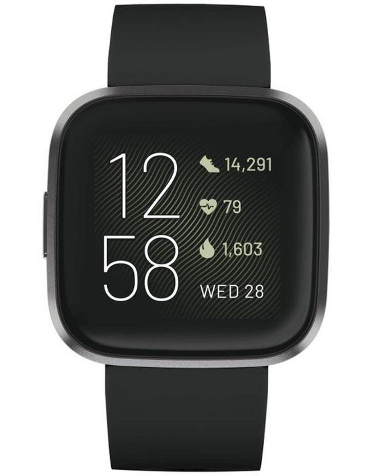 Versa 2 Smartwatch - Black / Carbon image 2