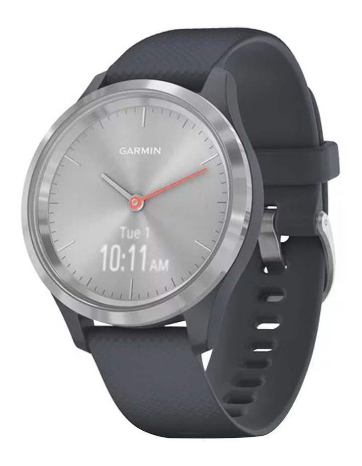 Vivomove 3s 39mm Smart Watch Silv/Blu Silicone band image 1