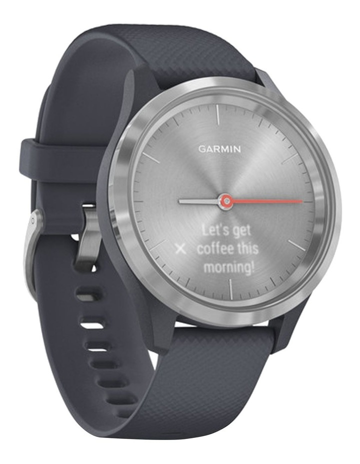 Vivomove 3s Hybrid Smartwatch 39mm In Silver/Granite image 2