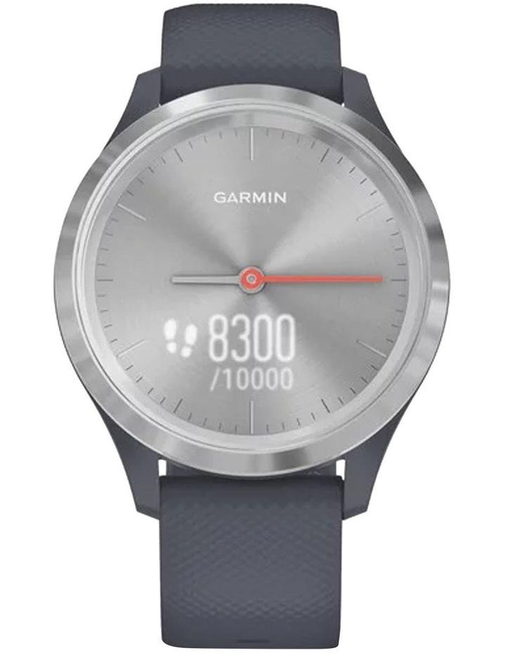 Vivomove 3s Hybrid Smartwatch 39mm In Silver/Granite image 3