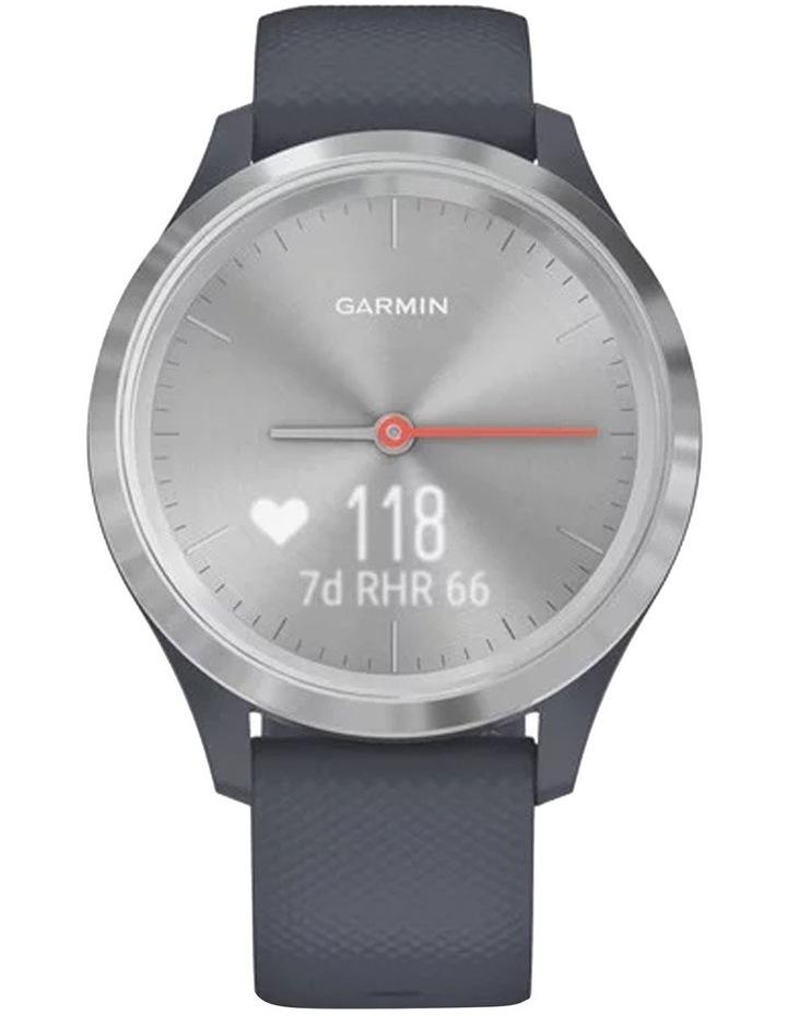 Vivomove 3s Hybrid Smartwatch 39mm In Silver/Granite image 4