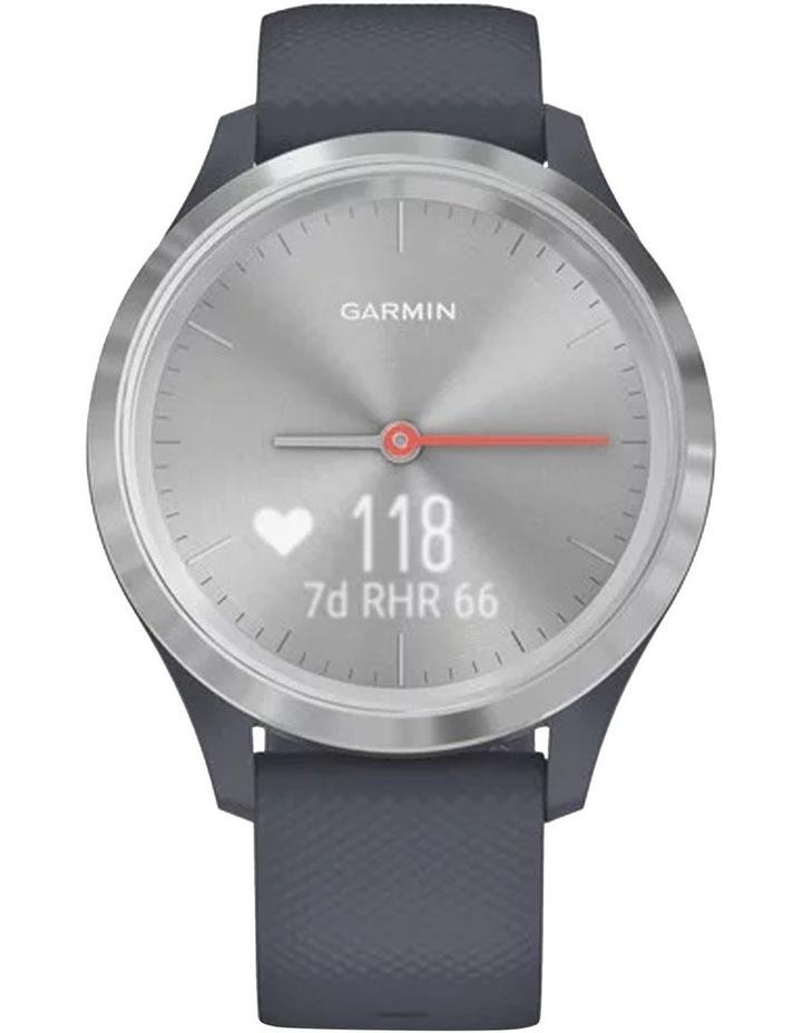 Vivomove 3s 39mm Smart Watch Silv/Blu Silicone band image 4