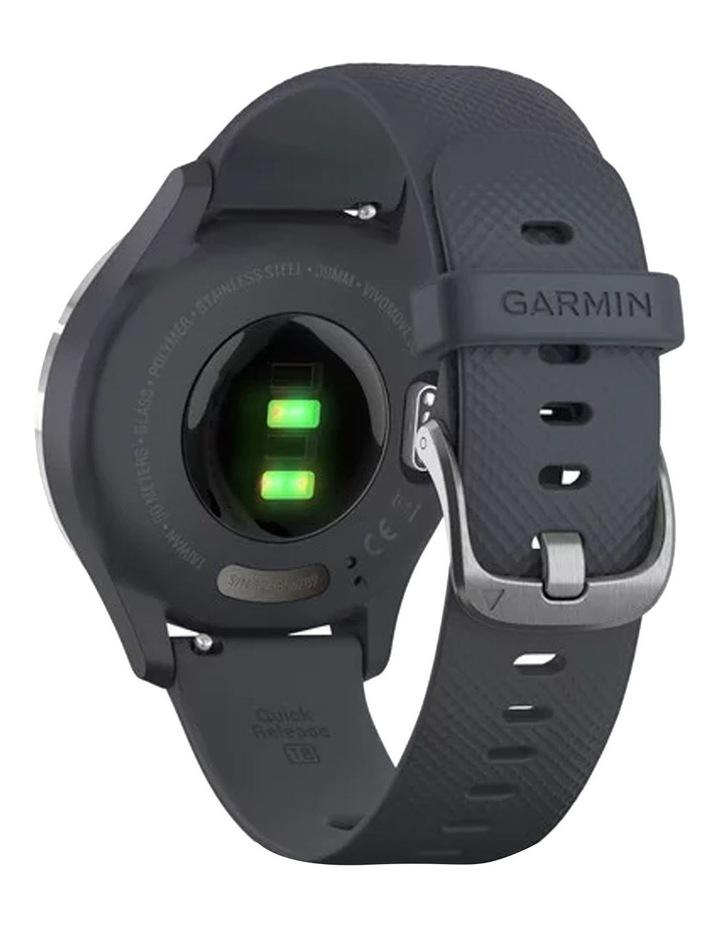 Vivomove 3s Hybrid Smartwatch 39mm In Silver/Granite image 5