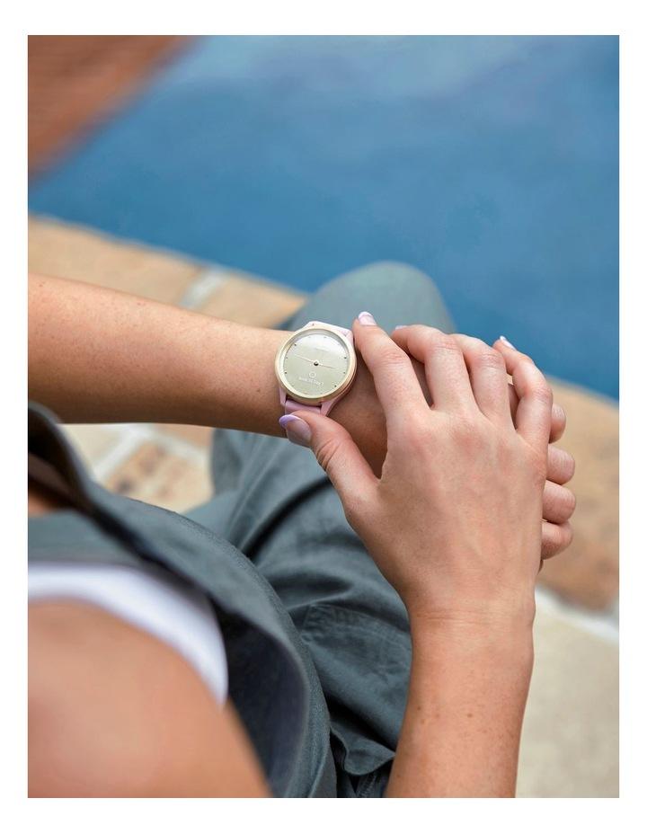 Vivomove 3s Hybrid Smartwatch 39mm In Silver/Granite image 6