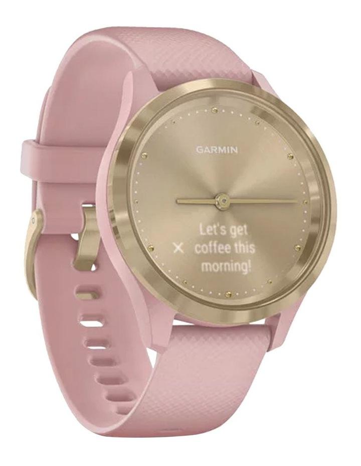 Vivomove 3s 39mm Smart Watch Cha/Rse Silicone band image 2