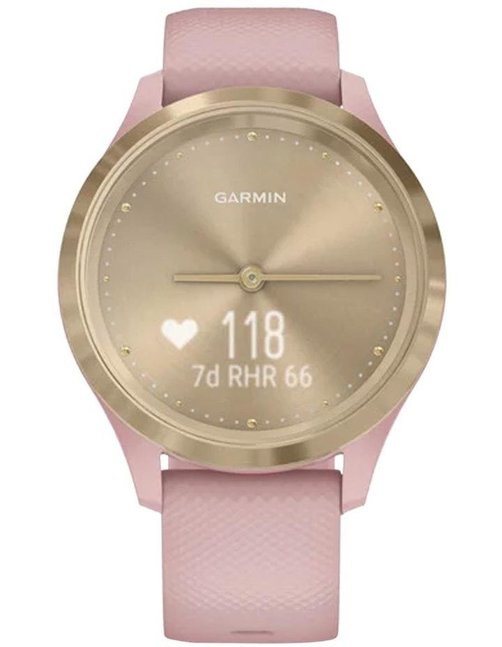 Vivomove 3s 39mm Smart Watch Cha/Rse Silicone band image 4