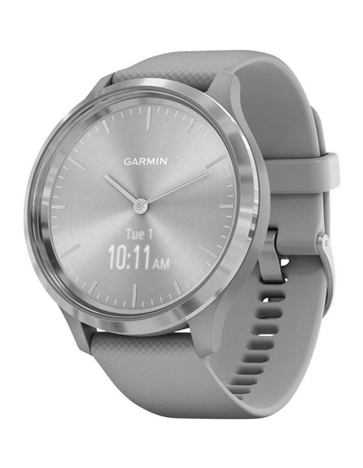 Garmin Vivomove 3 44mm Smart Watch Gry/Silv Silicone band image 1