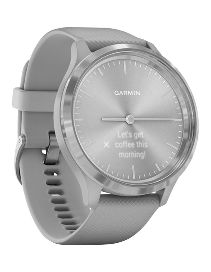 Garmin Vivomove 3 44mm Smart Watch Gry/Silv Silicone band image 2