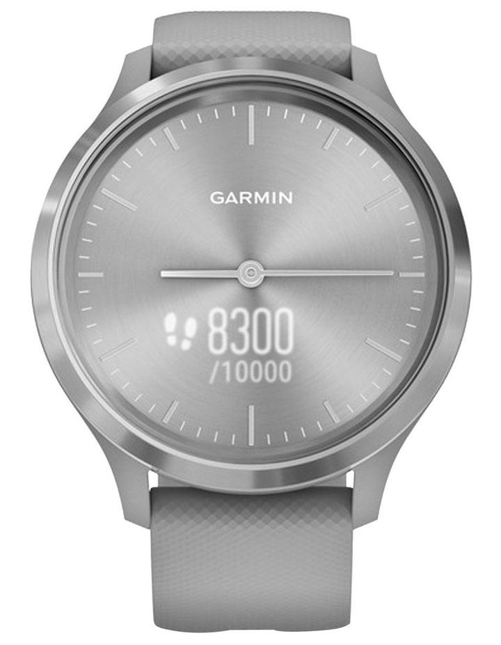 Garmin Vivomove 3 44mm Smart Watch Gry/Silv Silicone band image 4