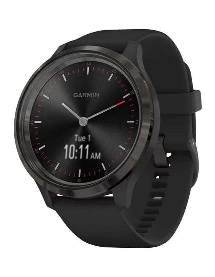 Vivomove 3 44mm Smart Watch Blk Silicone band image 1