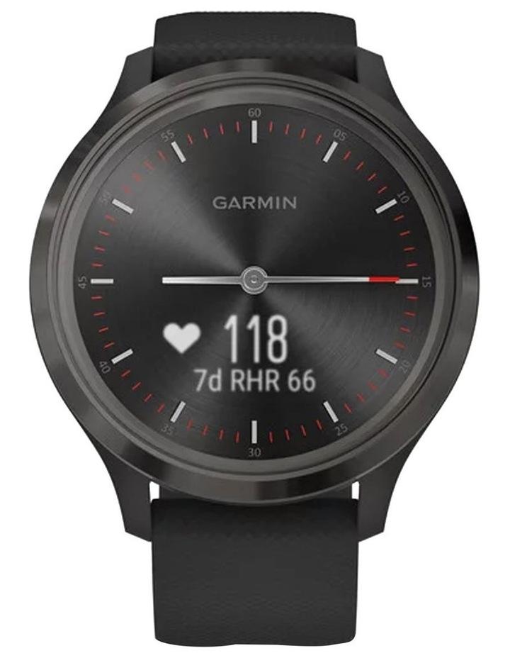 Vivomove 3 44mm Smart Watch Blk Silicone band image 3