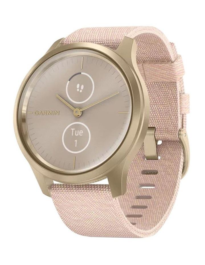 Vivomove Style 42mm Smart Watch Cha/Rse, Fabric band image 1