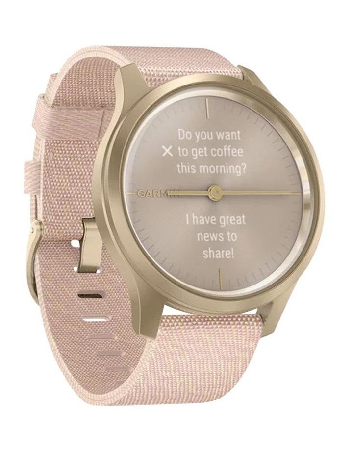 Vivomove Style 42mm Smart Watch Cha/Rse, Fabric band image 2