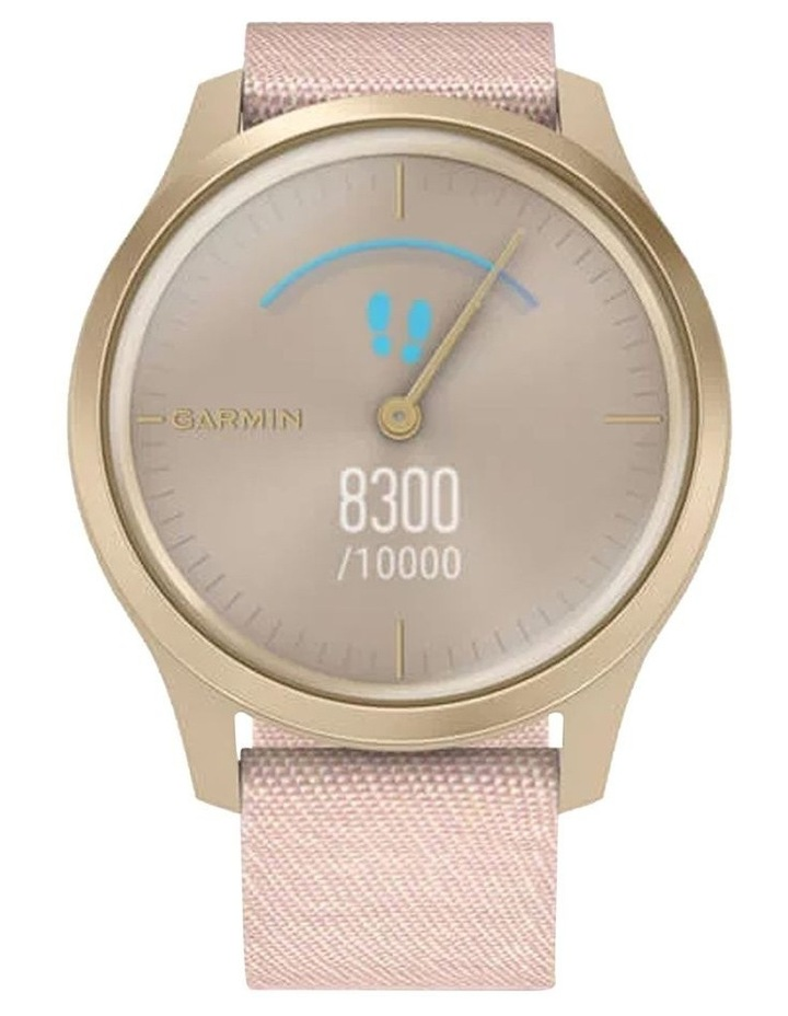 Vivomove Style 42mm Smart Watch Cha/Rse, Fabric band image 3