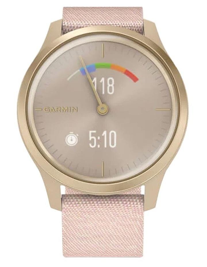 Vivomove Style 42mm Smart Watch Cha/Rse, Fabric band image 4