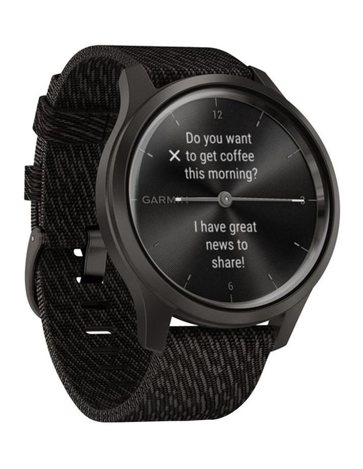 Vivomove Style 42mm Smart Watch Gun/Gry Fabric band image 2