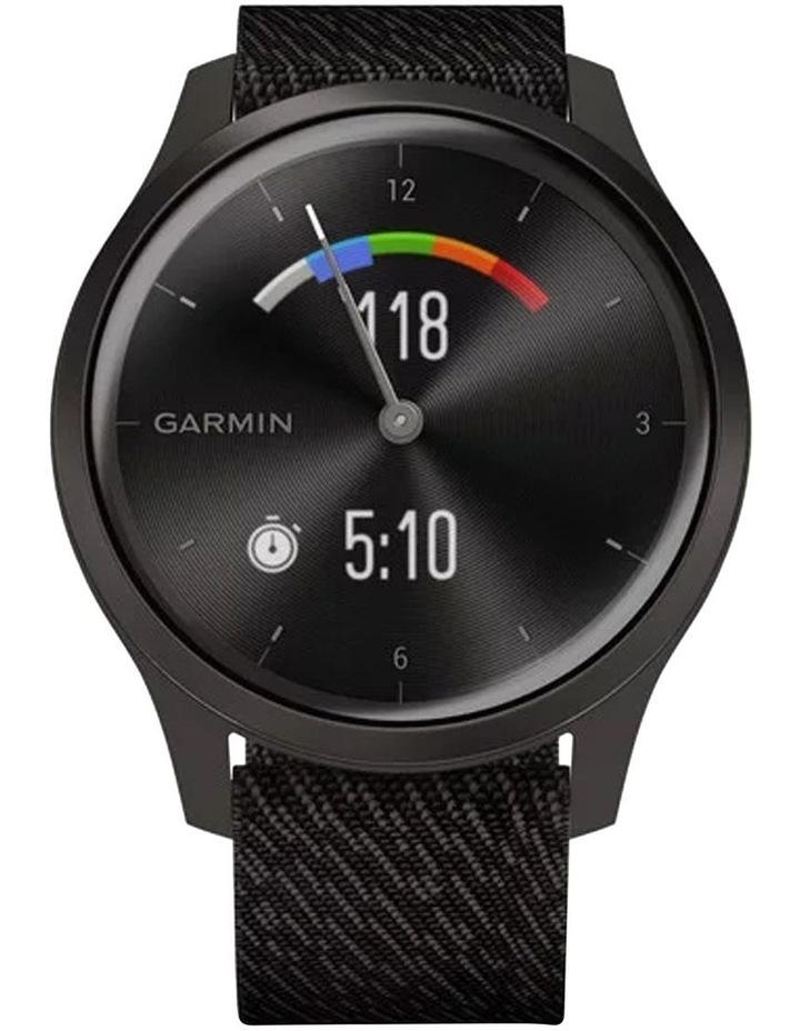 Vivomove Style 42mm Smart Watch Gun/Gry Fabric band image 4