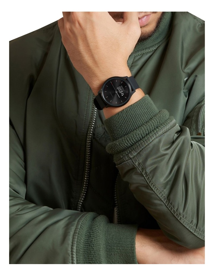 Vivomove Style Hybrid Smartwatch 42mm In Black With Fabric Band image 6