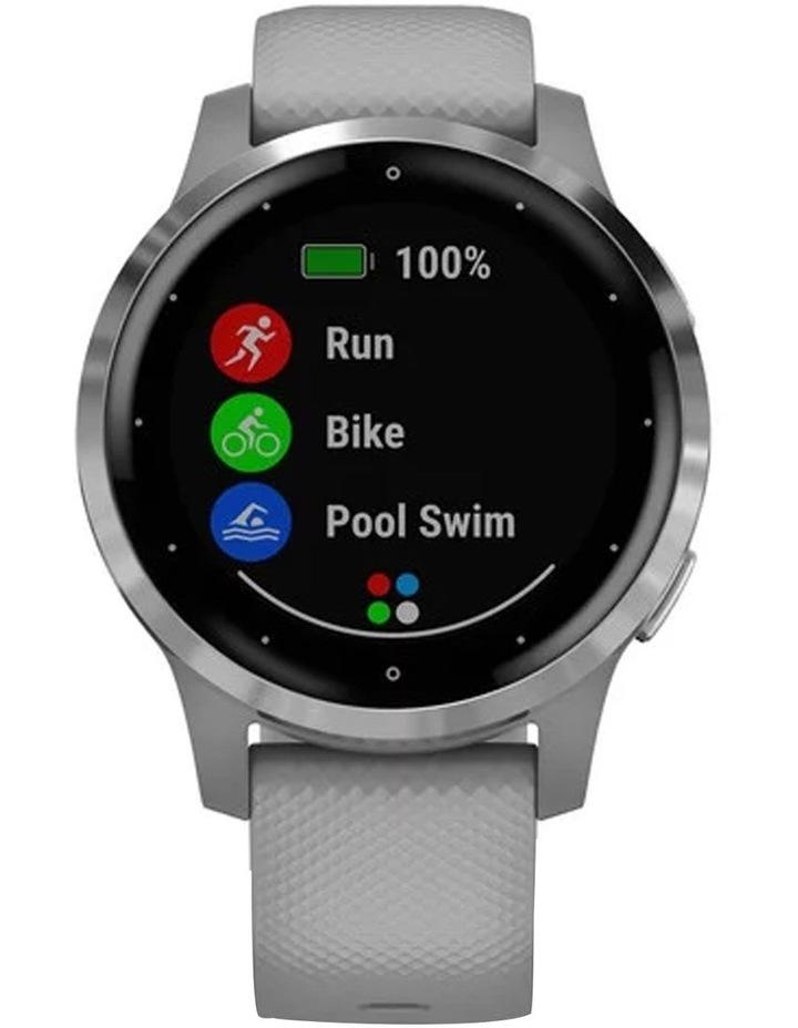 Vivoactive 4s Smartwatch (40mm) - Silv/Gry image 3