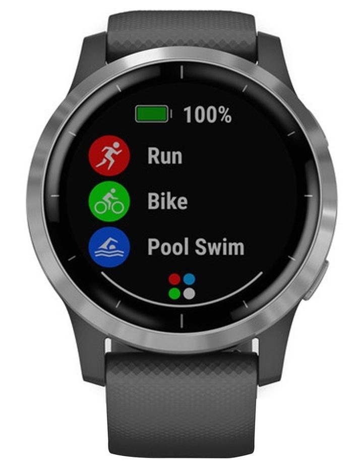 Vivoactive 4 Smart Watch Gry/Silv image 2