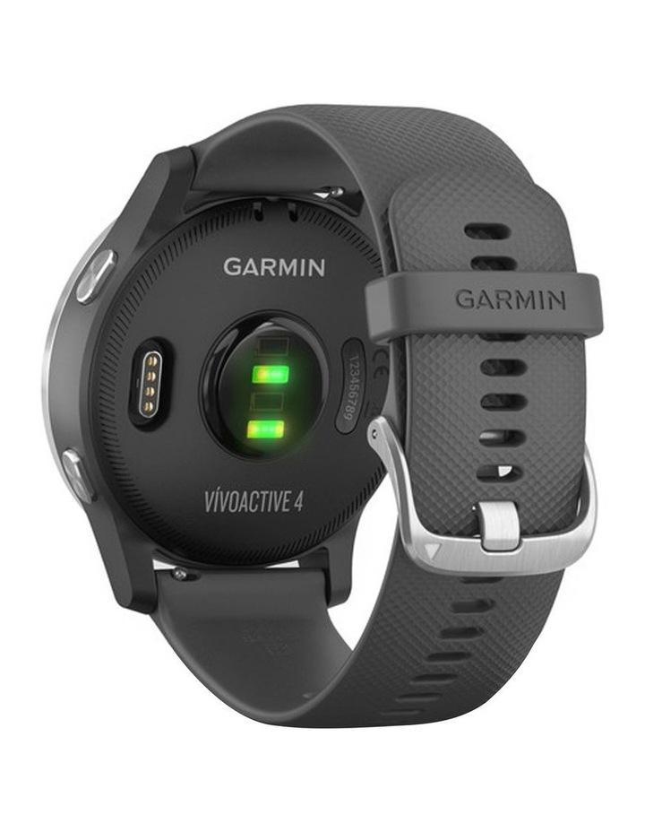 Vivoactive 4 Smart Watch Gry/Silv image 4