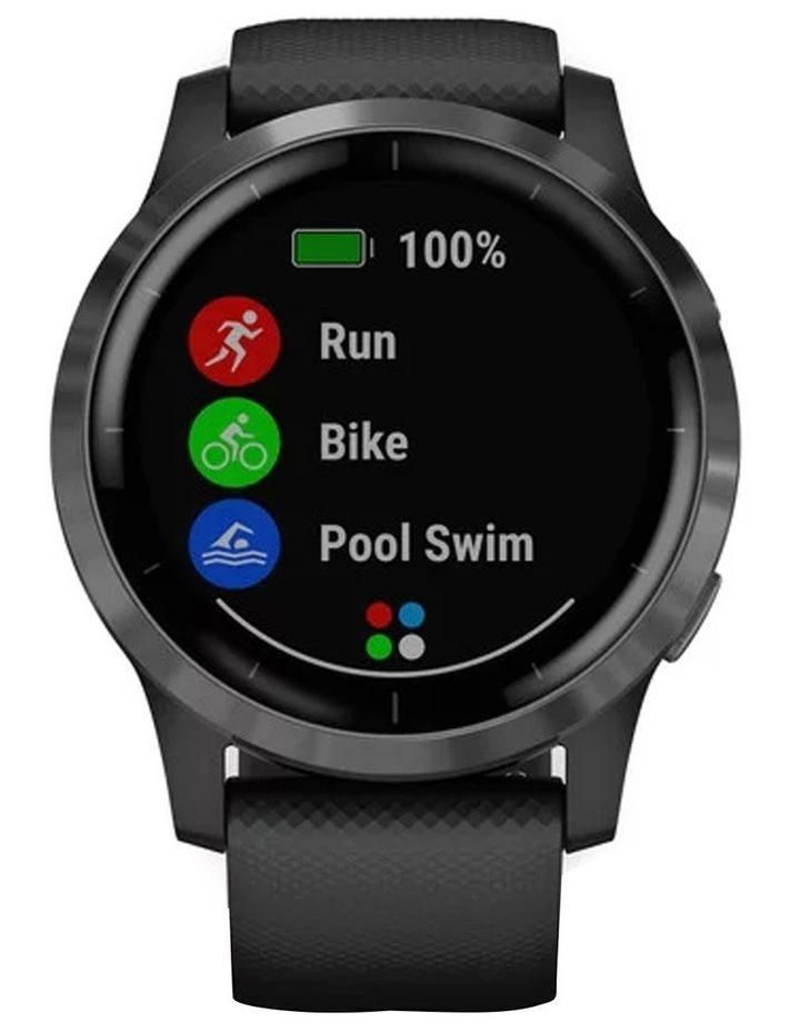 Vivoactive 4 Smart Watch Blk/Slate image 3