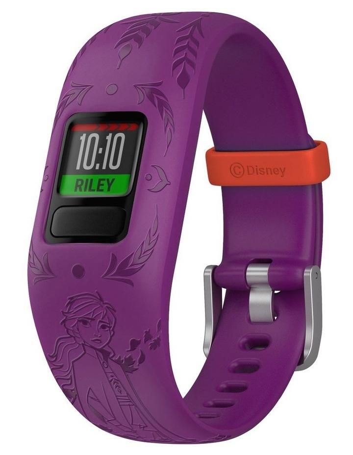 Vivofit Jr 2 Adjustable Kids Fitness Tracker Frozen 2 Anna (Purple) image 1
