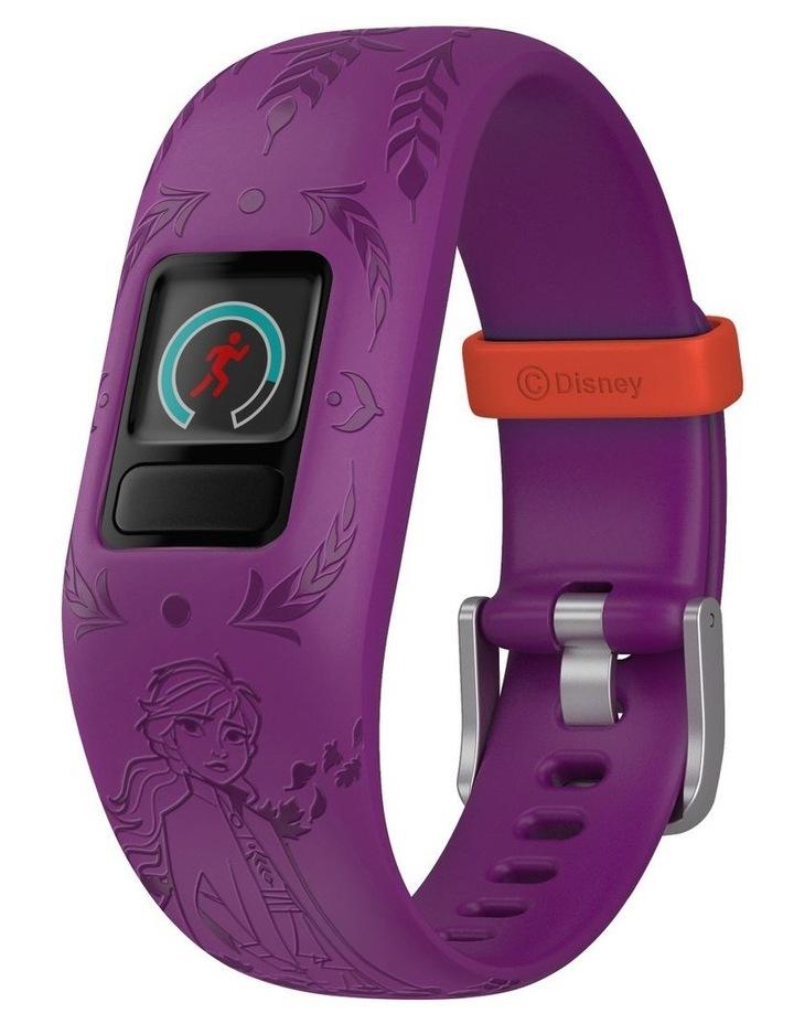 Vivofit Jr 2 Adjustable Kids Fitness Tracker Frozen 2 Anna (Purple) image 2