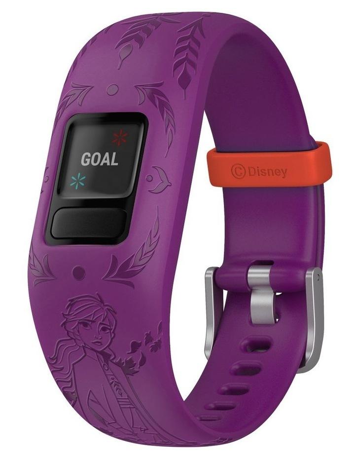 Vivofit Jr 2 Adjustable Kids Fitness Tracker Frozen 2 Anna (Purple) image 4