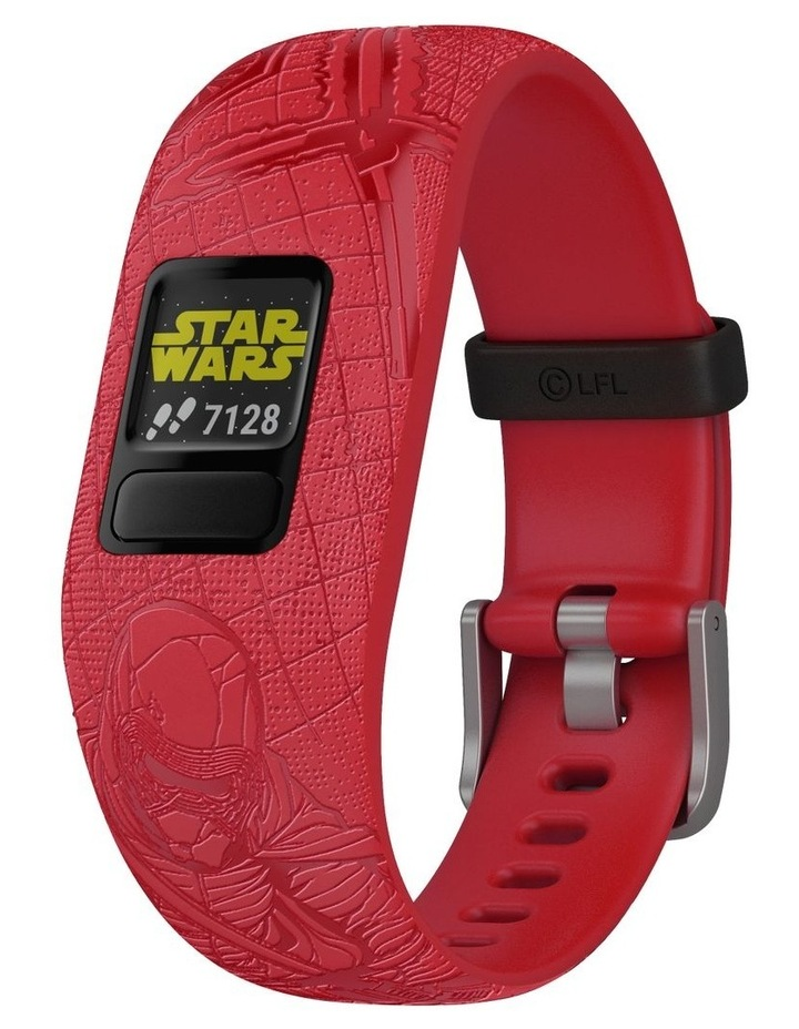 Vivofit Jr 2 Adjustable Kids Fitness Tracker Star Wars Dark Side (Red) image 1