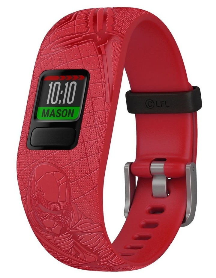 Vivofit Jr 2 Adjustable Kids Fitness Tracker Star Wars Dark Side (Red) image 2