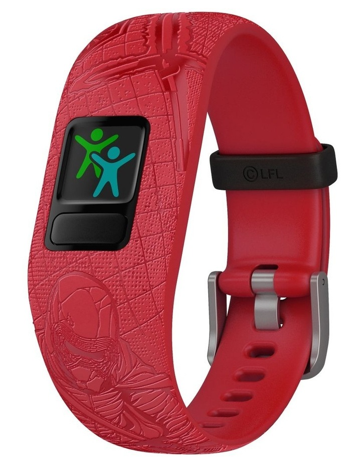 Vivofit Jr 2 Adjustable Kids Fitness Tracker Star Wars Dark Side (Red) image 3