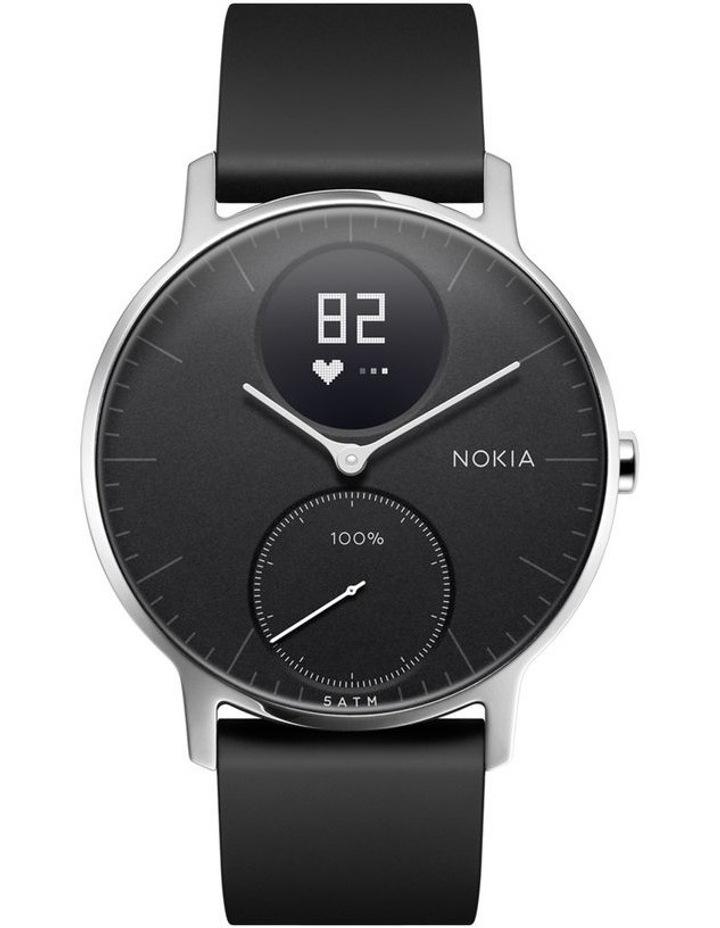 Steel HR Smart Watch 36mm Black image 1