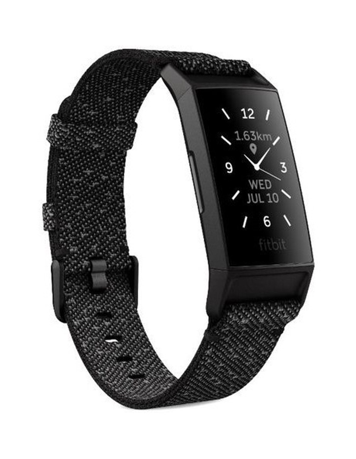 Fitbit Charge 4 Advanced Special Edition Black Fitness Tracker image 2