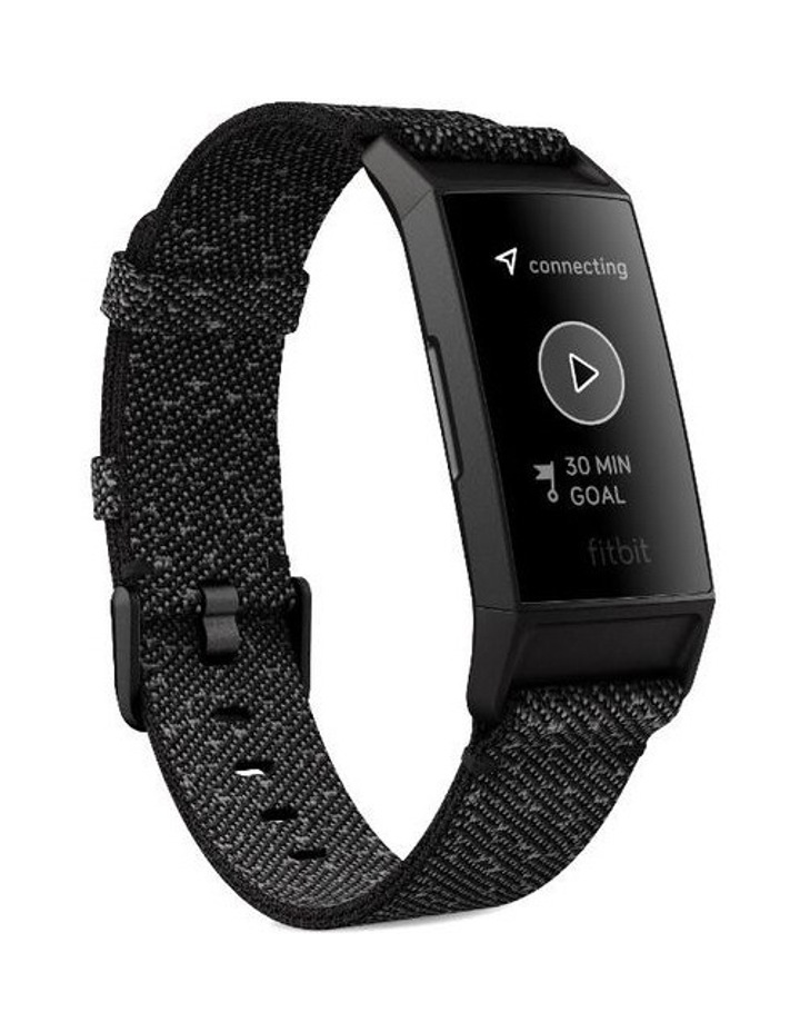 Fitbit Charge 4 Advanced Special Edition Black Fitness Tracker image 3