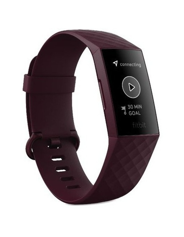 Fitbit Charge 4 Advanced Fitness Tracker Rosewood image 3