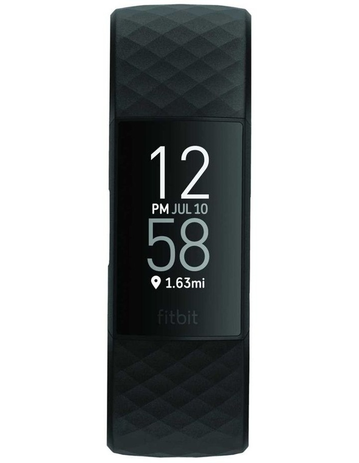 Fitbit Charge 4 Advanced Black Fitness Tracker image 2